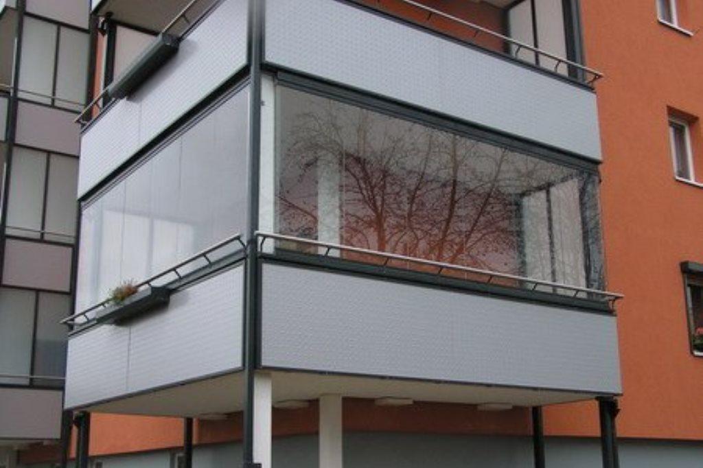Холодное остекление балкона: особенности технологии, подробн.